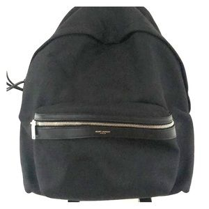 YSL City Backpack In Canvas